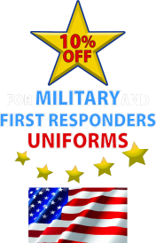 Service Member & First Responder Uniform Discount